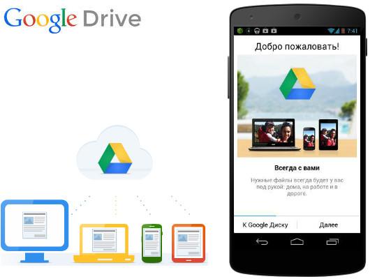 google- drive-na-android
