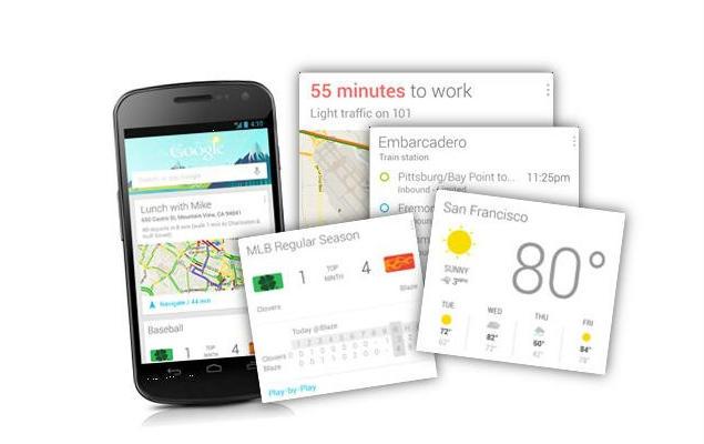 Голосовое управление Google Now
