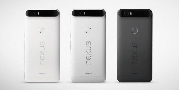 Цветовые решения nexus 6p
