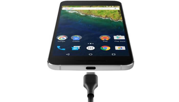 Nexus 6P с usb type c