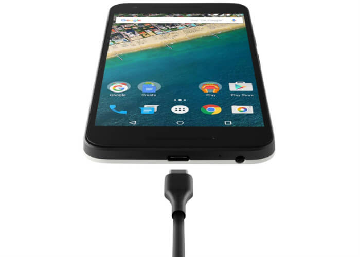 Разъем USB Type-C Nexus 5x