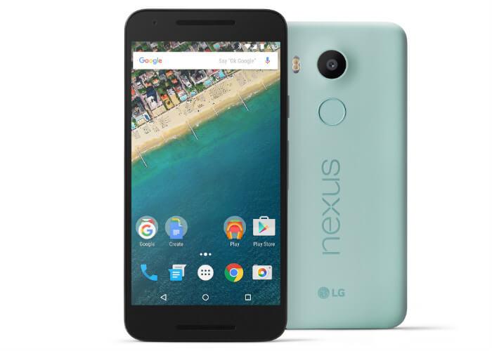 Внешиность Nexus 5X