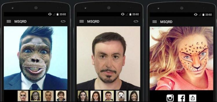 MSQRD на андроид