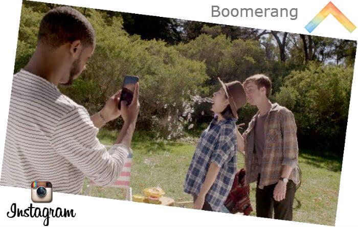Boomerang на Android