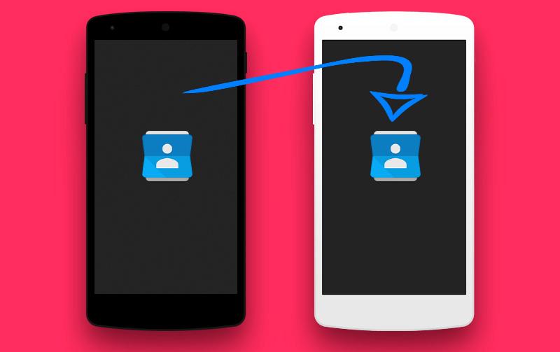 Перенос данных с андроида на андроид