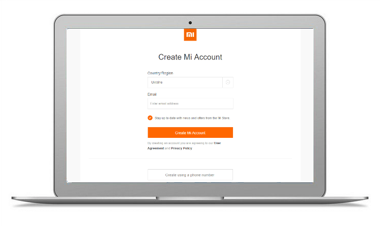 Mi аккаунт — как быстро зарегистрировать на Xiaomi