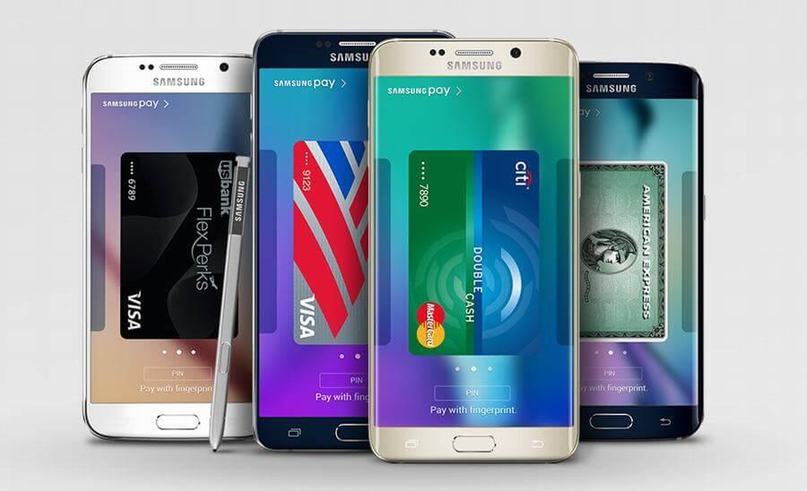 телефоны поддерживающие samsung pay