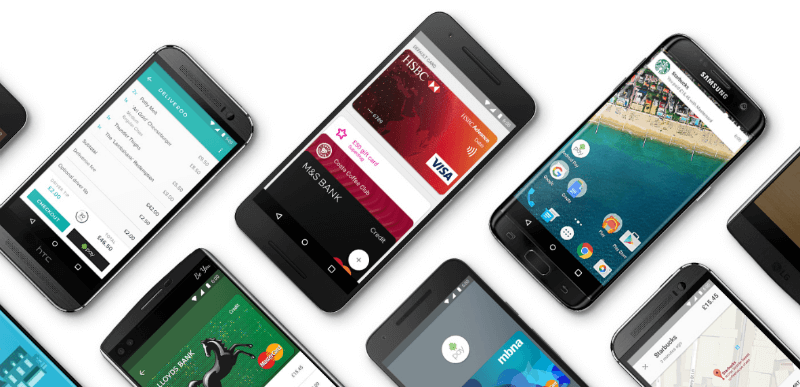 Android Pay поддерживает смартфоны с NFC