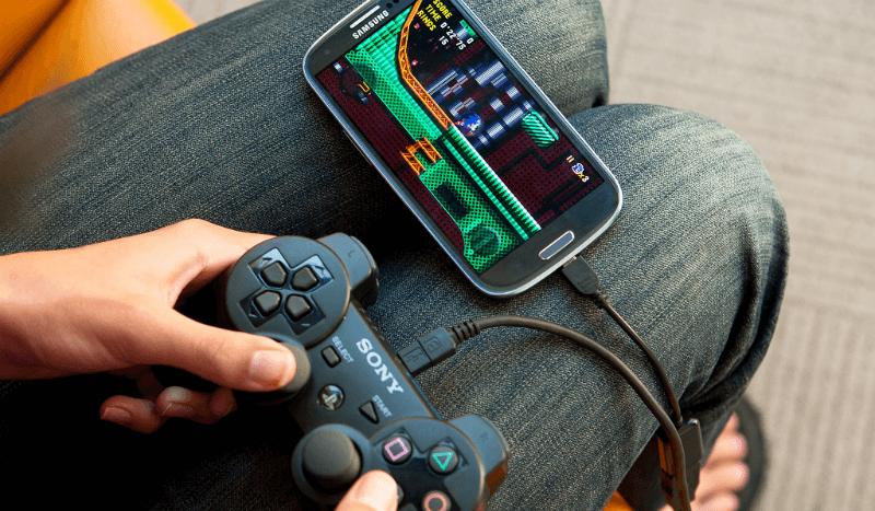 как подключить джойстик к телефону android