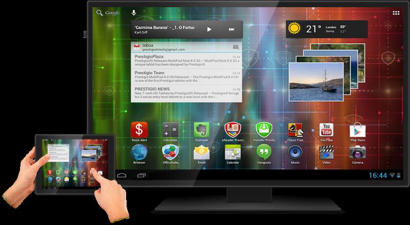 как подключить андроид к телевизору через wifi