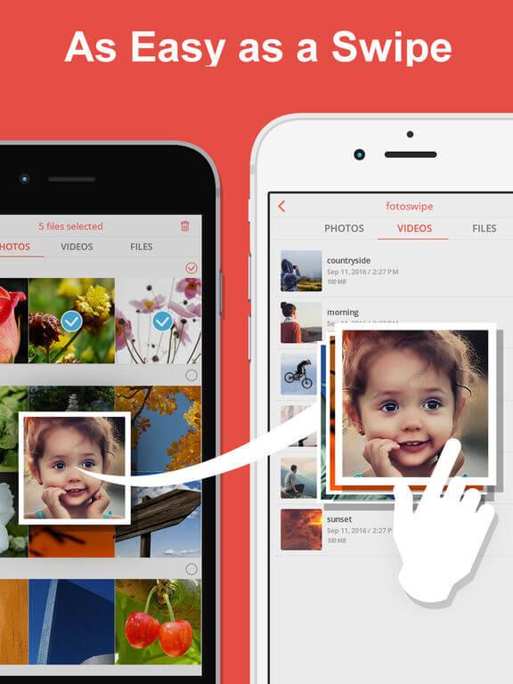 передача фото с айфона на андроид