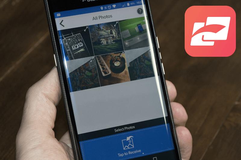 как передать фото с айфона на андроид