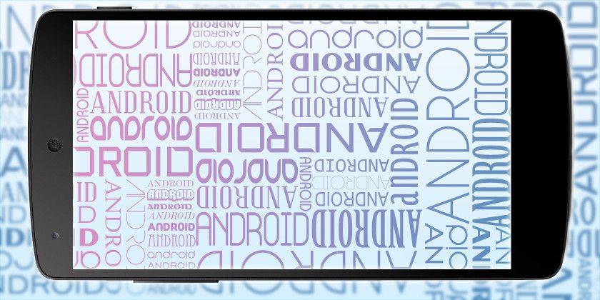 как изменить стиль шрифта на андроид