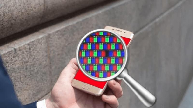 проверить битые пиксели на андроиде