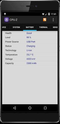 как проверить реальную емкость аккумулятора на андроид