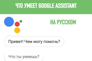 что умеет google assistant