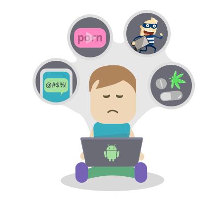 как включить родительский контроль на андроиде