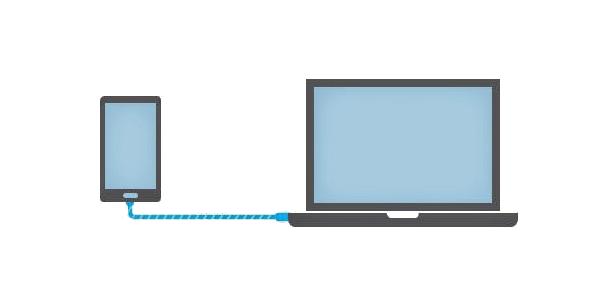 как подключить ноутбук к телефону андроид