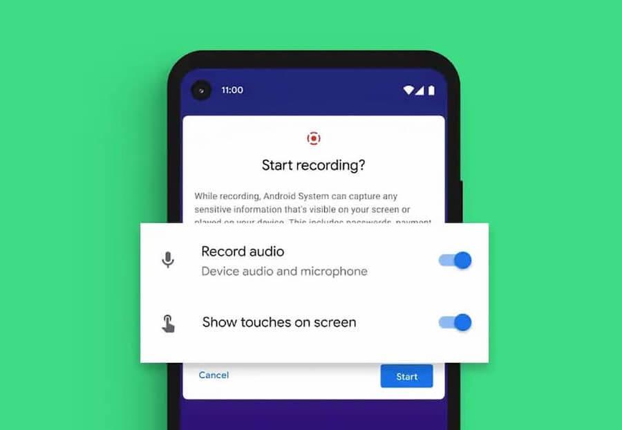 Как записать видео с экрана андроид