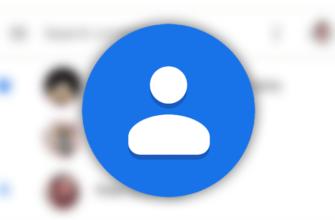 фото на контакт андроид