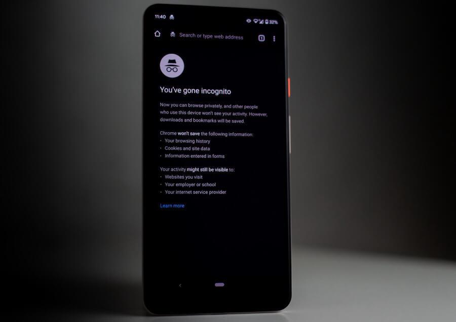 инкогнито на телефоне андроид