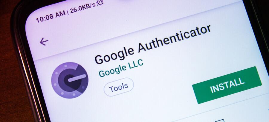 google authenticator как восстановить аккаунт